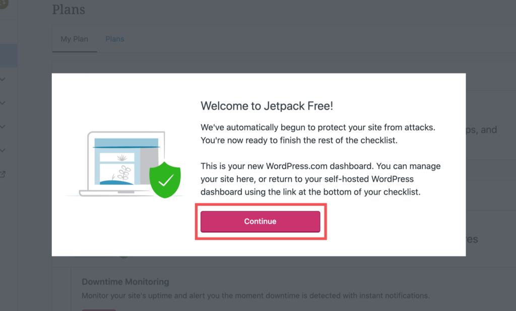 Welcome to jetpack Free