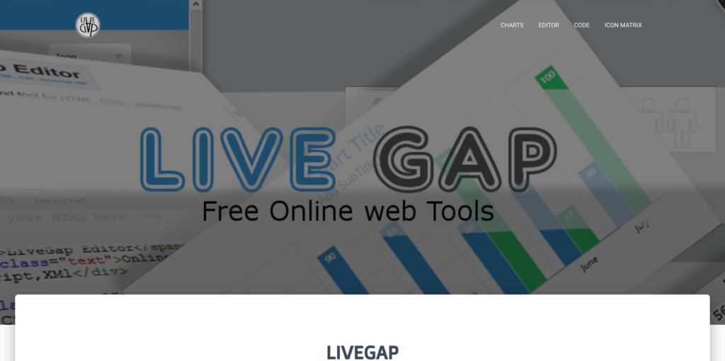 LiveGap Editor