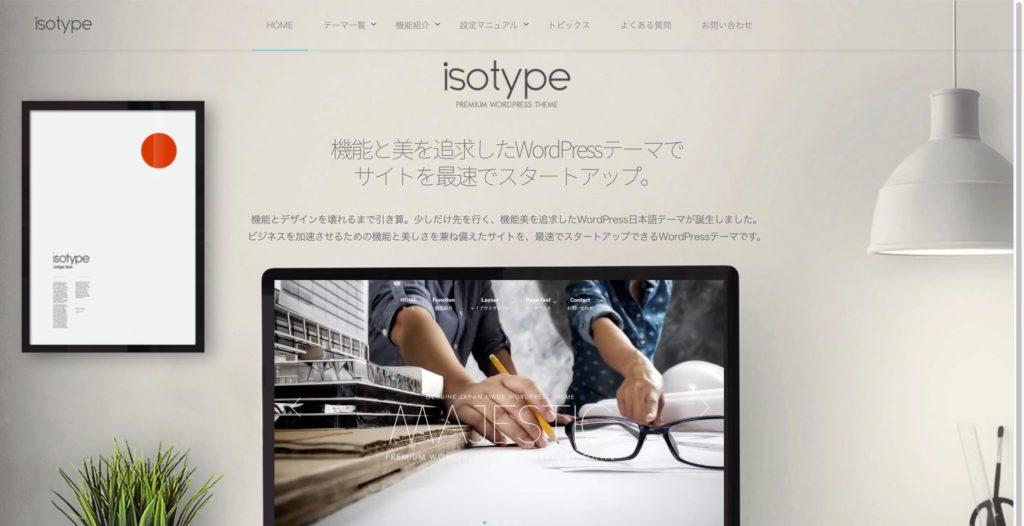 isotype(アイソタイプ)