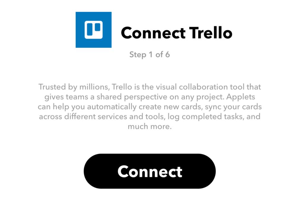 Connect Trello