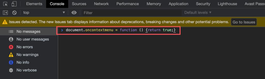 ChromeデベロッパーツールのConsole
