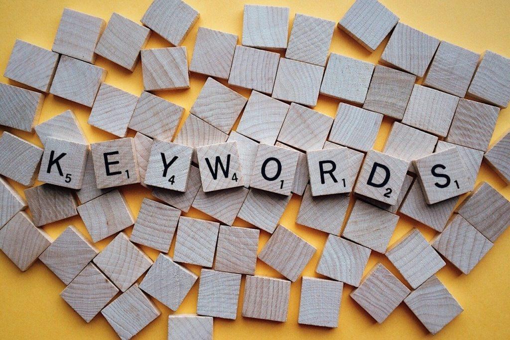 検索ボリューム別の検索キーワードの種類