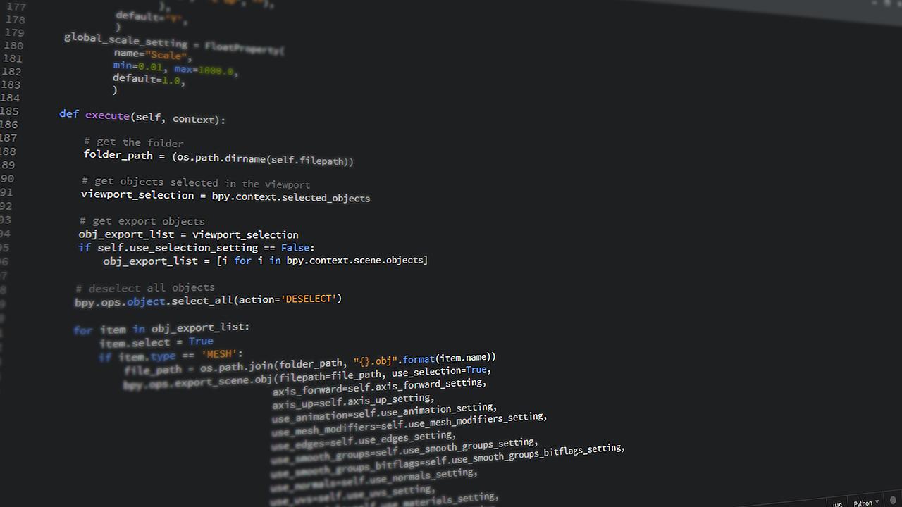 プログラミング言語Pythonとは?特徴は?